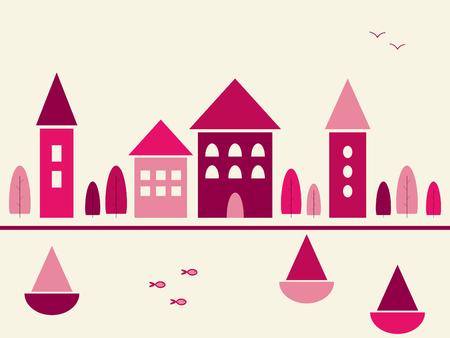 City 向量圖像