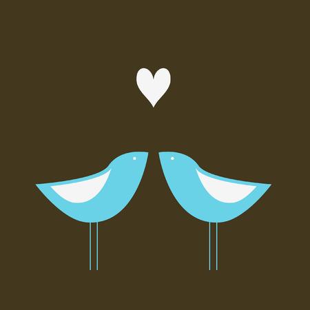 Love couple Stock Vector - 4575126