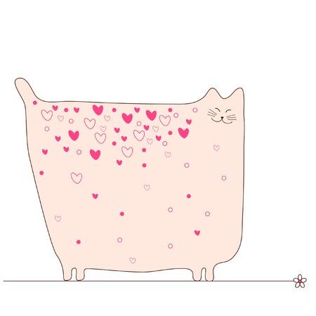 Amore gatto Archivio Fotografico - 4632579