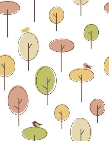 Naadloze: Najaar naadloze patroon
