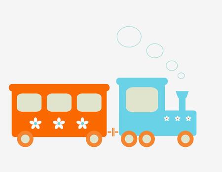 tren caricatura: Tren