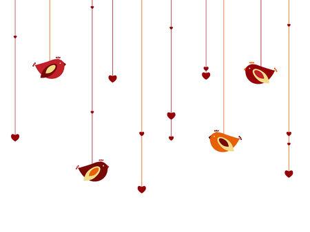 Hearts en vogels