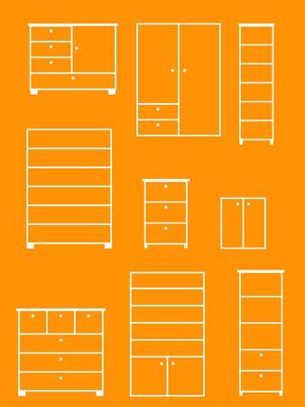 Furniture Stock Vector - 5581621