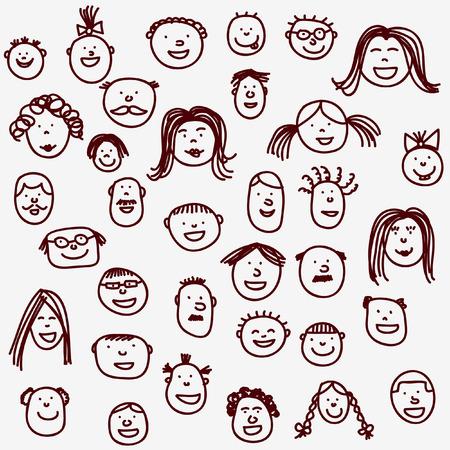 Faces Vettoriali