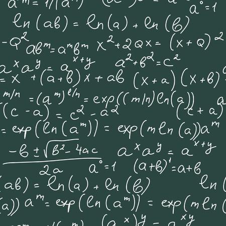 Math Formulas Vector