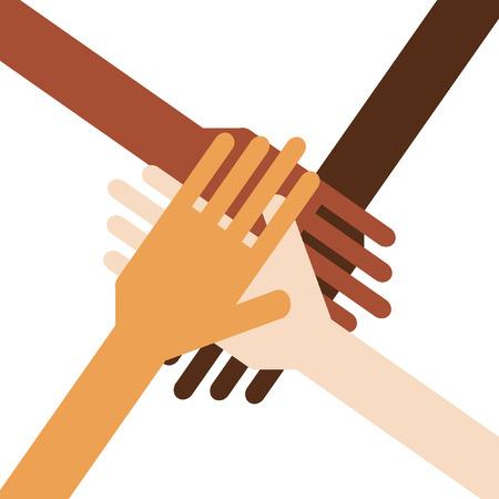 Multiculturalisme Stock Illustratie