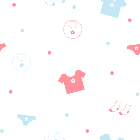 Baby seamless pattern Stock Vector - 6036186