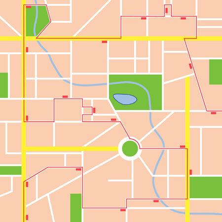 minor: Public transportation map
