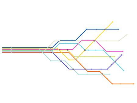 Subway kaart