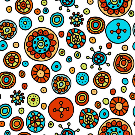 Seamless hand drawn pattern Stock Vector - 6116241