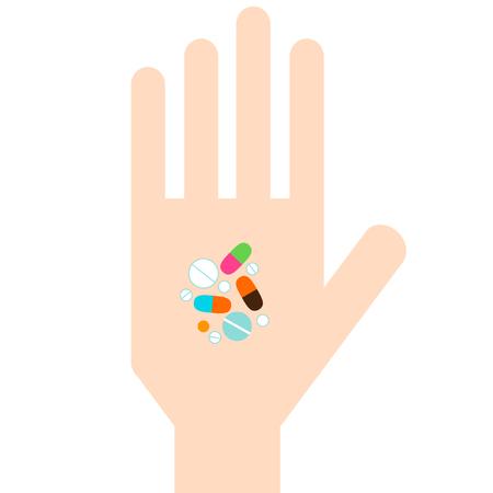 Prescriptin pills Ilustração