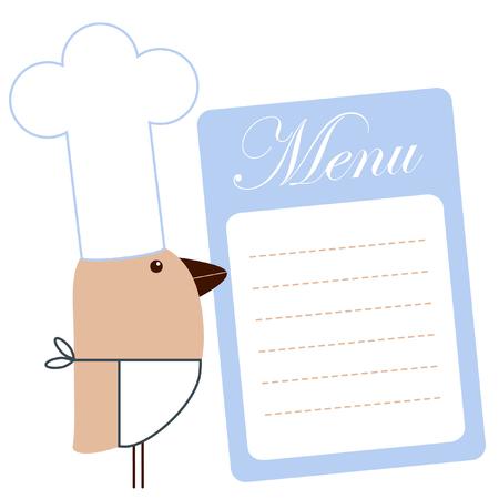 chefs show: Menu