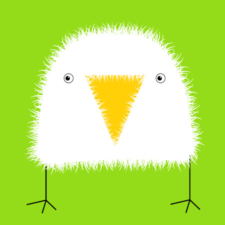 Baby vogel Stock Illustratie