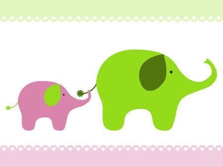 Bébé éléphant Banque d'images - 6475195
