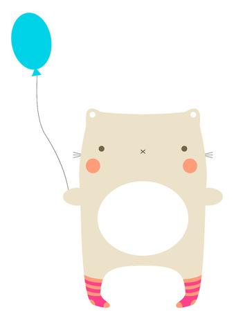 happy: Happy birthday Illustration