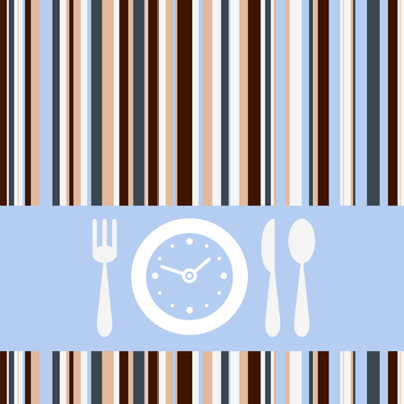 Lunch time Stock Vector - 6747443