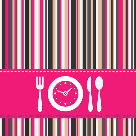Lunch time Stock Vector - 7009062