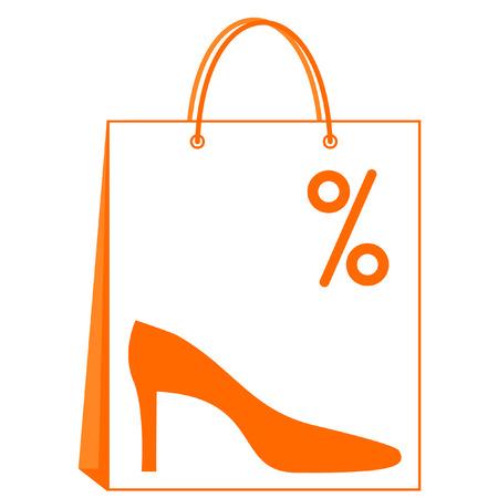 Shoes sale Illustration