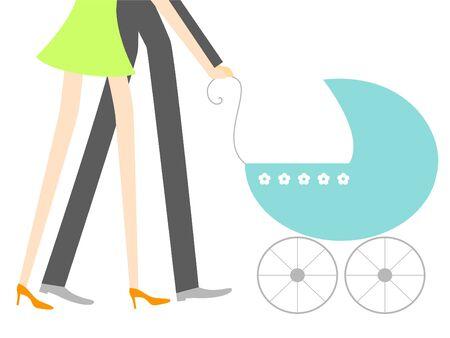 New baby Illustration