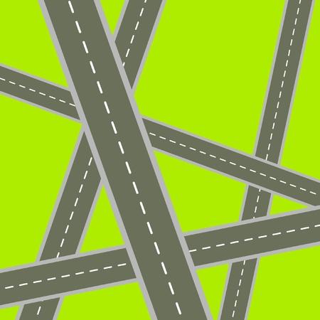 Crossroads Stock Vector - 9460048