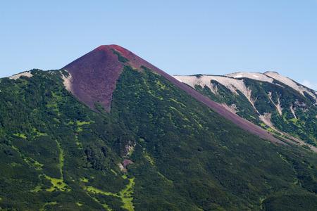 kamchatka: Mountain. Kamchatka Stock Photo