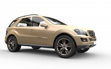 Gold SUV
