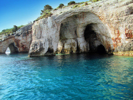 Beautiful cliffs by the sea - Blue Caves