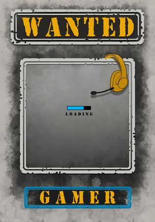 Wanted Gamer Poster Loading