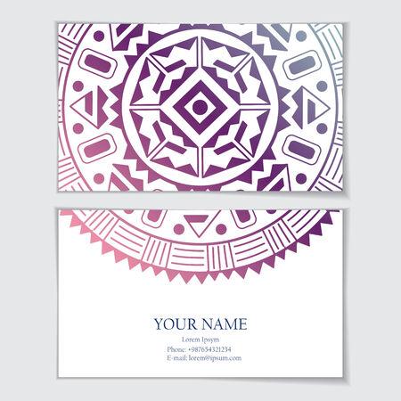 identidad cultural: Plantilla de tarjeta de visita. Tarjeta de visita, invitaciones, tarjetas de felicitaci�n.