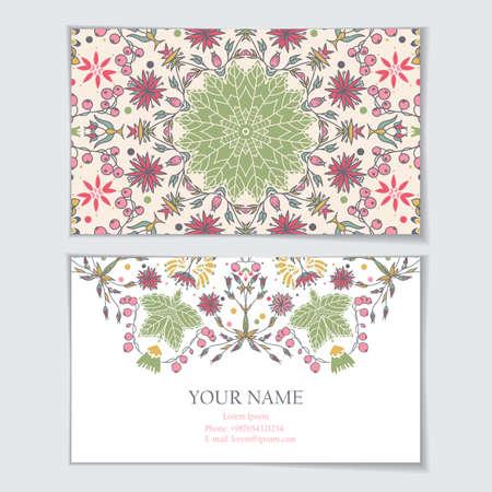 identidad cultural: Plantilla de tarjeta de visita, tarjeta de visita, invitaciones, tarjetas de felicitaci�n