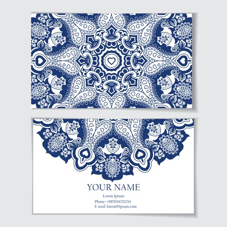 identidad cultural: Plantilla de tarjeta de visita o tarjeta de visita, invitaci�n o tarjeta de felicitaci�n
