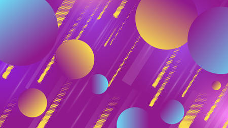 Colorful geometric vector minimalictic  background
