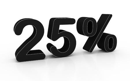 Twenty-five percent