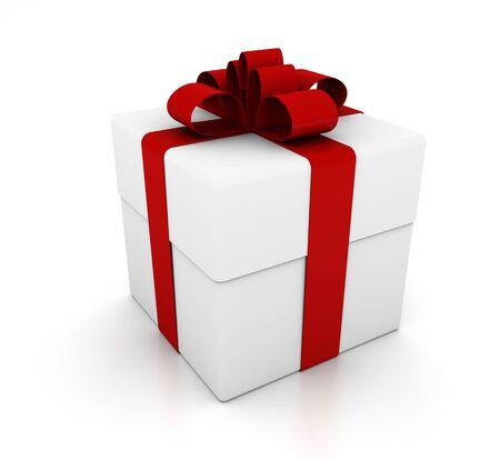 Gift wrapping isolated 版權商用圖片