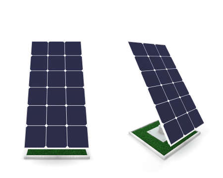 Future,of the use of solar batteries