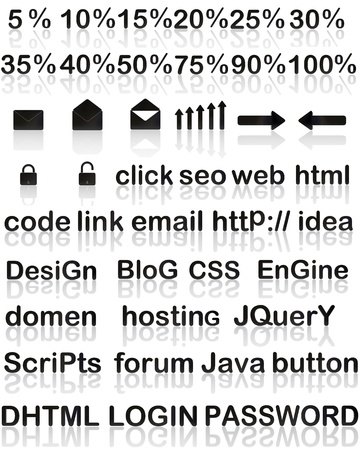 Compilation for web designer Stock Photo - 16806979