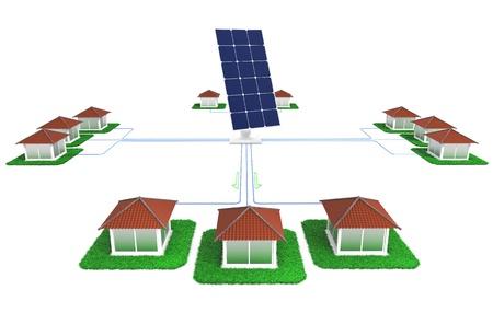 Light energy for homes