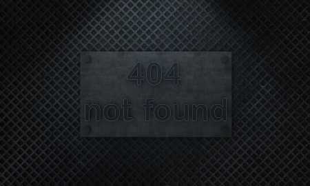 404 not found - site on major overhaul