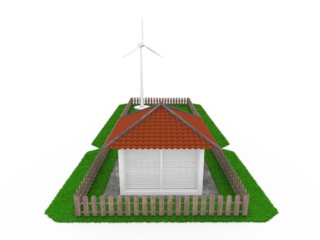 Production of electricity in the home