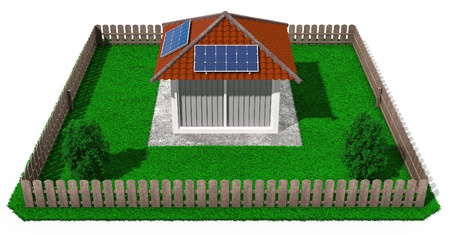 Ensuring the energy of the sun residential and holiday constructions