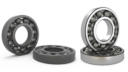 bearings of the swing - ball Stock Photo