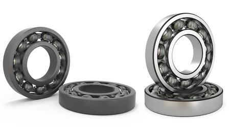 bearings of the swing - ball Stock Photo