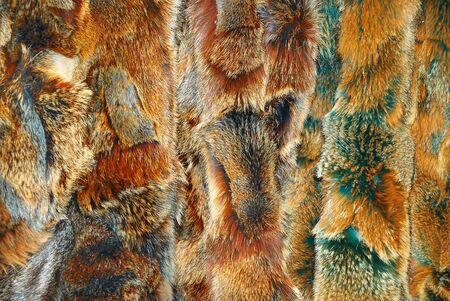 nerts: Close-up van een mooie nertsen pels achtergrond