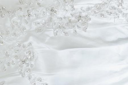 tela seda: Boda de encaje Foto de archivo