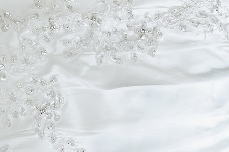bead embroidery: Wedding lace