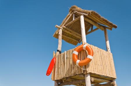 Beach lifesaving hillock