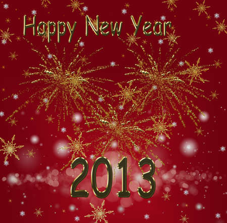 Happy New Year celebration background photo