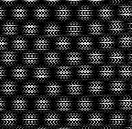 Black And White Check Grunge Room Stock Photo - 16173615