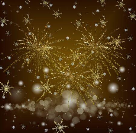 Gelukkig Nieuwjaar viering achtergrond