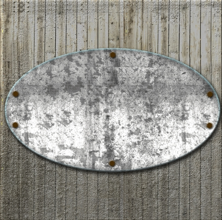 Abstract marble stone on wood board photo
